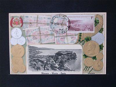 MONACO MK 1943 MONTE CARLO MAXIMUMKARTE CARTE MAXIMUM CARD MC CM c6754