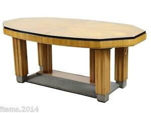 Grande table de salle a manger art deco decor de for Grande table de salle a manger