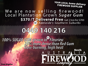 Firewood free home delivery to southern Adelaide suburbs Carrickalinga Yankalilla Area Preview