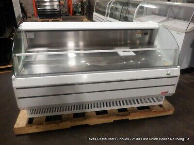 Turbo Air Tom-75sw-n 75 58 Horizontal Open Air Cooler Display Merchandiser