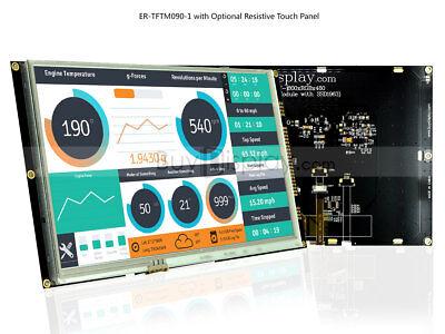 9 Inch Resistive Touch Tft Lcd Display Module Wssd1963tutorialpin Header
