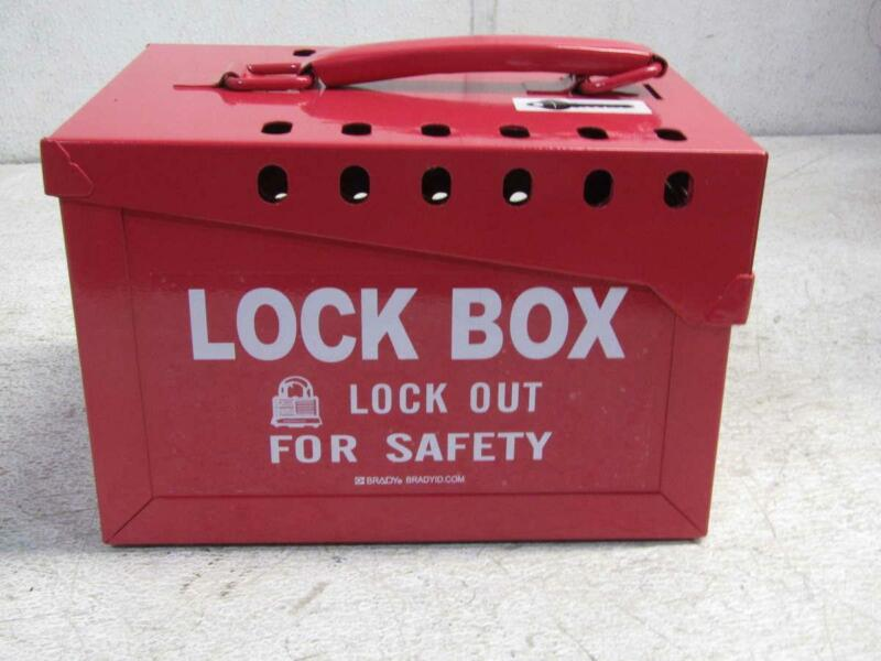 Brandy Red Steel Lock Out For Safty Lock Box Y405870