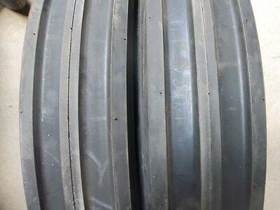 Two 550x16550-165.50x16 Farmall 300 Six Ply 3 Rib Tractor Tires Wtubes