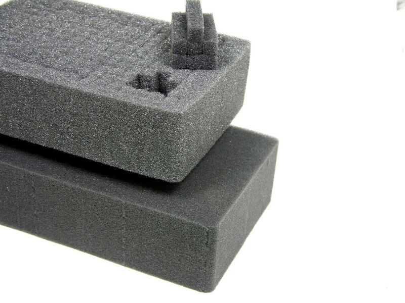 New Replacement 2 piece cubed foam fits your Harbor Freight Apache 3800 Case