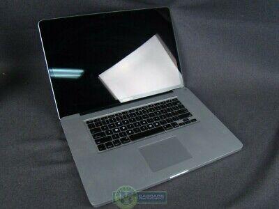 "Apple Macbook Pro 17"" Core i7 2.4GHZ/4GB/750GB HD Late 2011 A1297!"