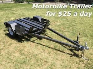DIRTBIKE TRAILER HIRE - Rental for only $25.00 a day!!!