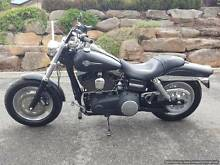 2013 HARLEY DAVIDSON FATBOB BLACK 13,000KMS Littlehampton Mount Barker Area Preview