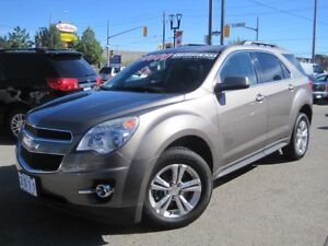 2011 CHEVROLET EQUINOX LT | CAM • Leather • Loaded