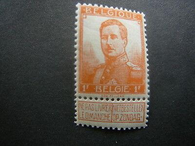 116 xx MNH 1F oranje - orange pellens