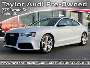 2014 Audi RS 5 4.2 LOCAL TRADE, 1 OWNER, 450HP V8