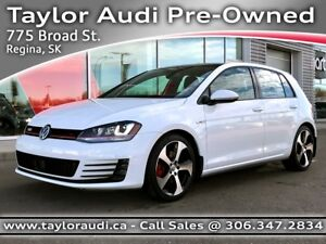 2015 Volkswagen Golf GTI 5-Door Autobahn LOCAL TRADE, 1 OWNER...