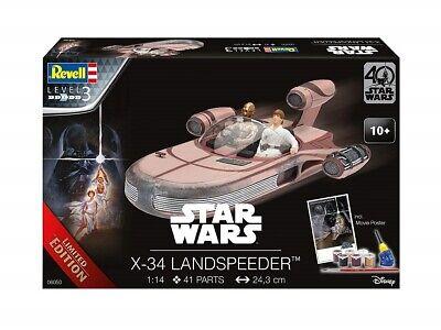 Revell Modellbausatz Neu /& OVP X-34 Landspeeder Limited Edition Star Wars