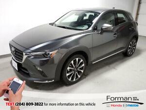 2019 Mazda CX-3 GT Tech|Navi|Htd Lthr|Memory Seats|Camera|Loaded