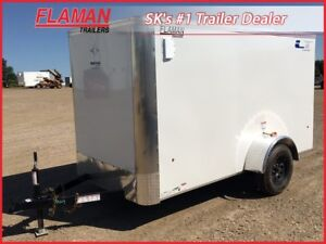 Southland 5' x 10' Lightning Series Enclosed Trailer