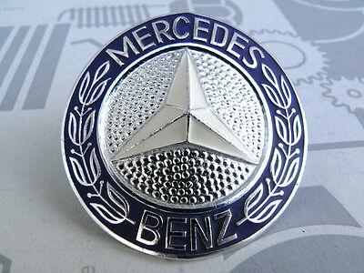 Genuine Mercedes grille badge emblem BIG for W115 models NEW! NOS!