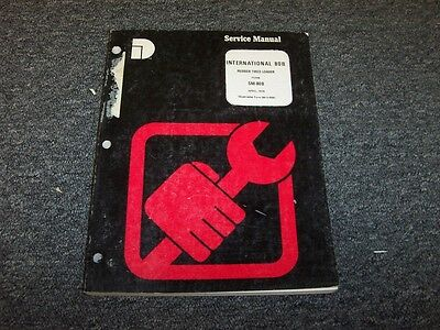 Dresser International 80b Rubber Tired Loader Shop Service Repair Manual Book