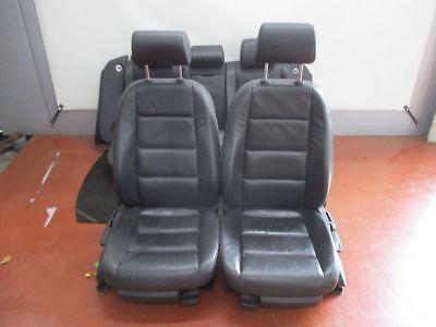 Sitzgarnitur komplett Leder  Flecken abnutzungspuren siehe Bild AUDI  A6 (4F2, - Flecken Leder Sitze