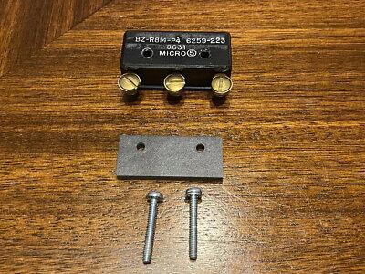 Micro Switch Bz-r814-p4 6259-223 8631 Miniature Limit Switch New Wo Box