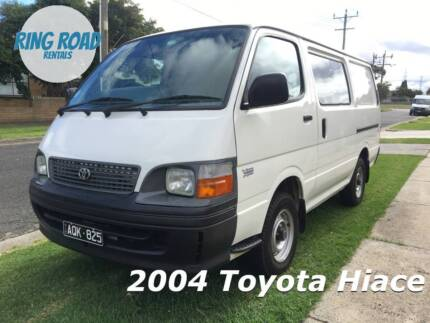 $27 a day rentals - 1 Tonne Toyota Hiace - HEAPS OF VANS FOR HIRE