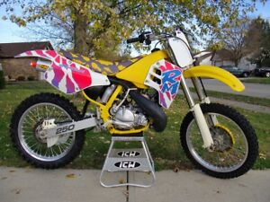 WANTED! 1991 rm 250 parts bike