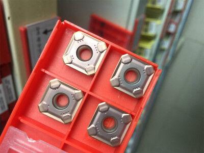 10pcs R245-12t3m-pm1030 R245 12 T3 M Plane Milling Insert For Steel Parts
