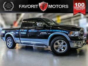 2010 Dodge Ram 1500 Laramie, Leather, Sunroof, Reverse Camera