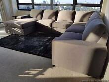 L Shaped Lounge with Sofa Bed Moore Park Inner Sydney Preview