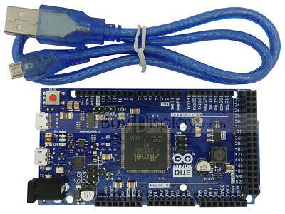 Due R3 Board Sam3x8e 32-bit Arm Cortex-m3 For Arduino Wfree Usb Cable