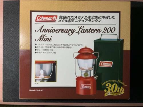 Coleman 30th Anniversary Japanese Corporation Lantern 200 Mini Limited Edition