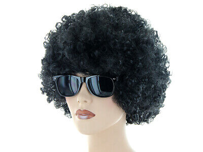 nky Outfit (Kv-198) Afro Perücke Sonnenbrille Schwarz (Funky Perücken)