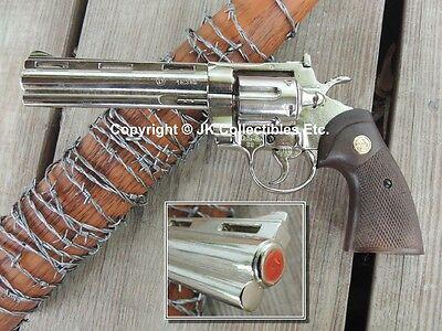 Replica Rick's Colt Python Zombie Killer .357 Prop Pistol Revolver Gun