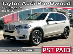 2014 BMW X5 35d LOCAL TRADE, PST PAID, 1 OWNER, DRIVER ASSIST...