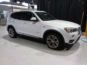2017 BMW X3 28i x-DRIVE SUV w/ NAVIGATION, PANORAMIC MOONROOF,