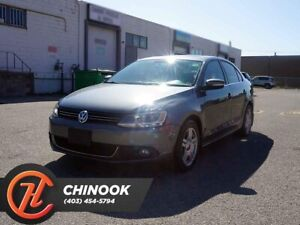 2013 Volkswagen Jetta TDI Comfortline w/ Heated Seats, Sunroof