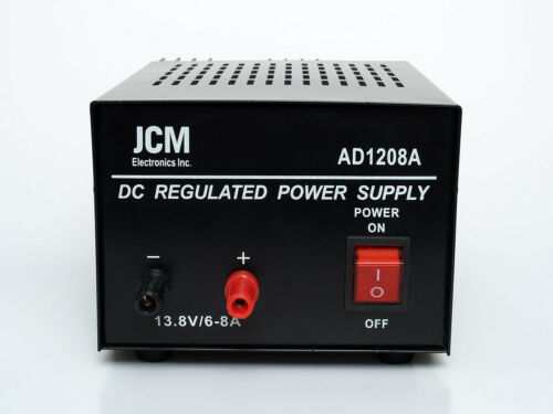 JCM 13.8V 8A Amp 13.8 Volt Power Supply 12V 12 Transformer Based Copper Wire