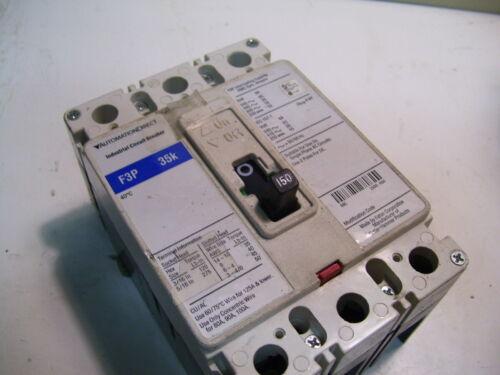 AUTOMATION DIRECT F3P 35K-150A EATON CUTLER HAMMER FD3150 150A 3P 480VAC P4775