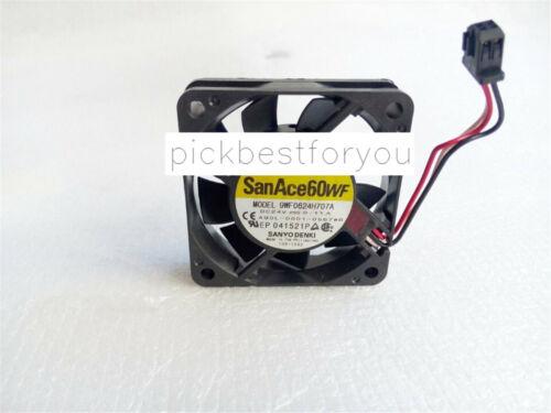 SANYO A90L-0001-0567#B WF0624H707A Cooling fan For Fanuc 24V 0.11A 3pin M136C QL