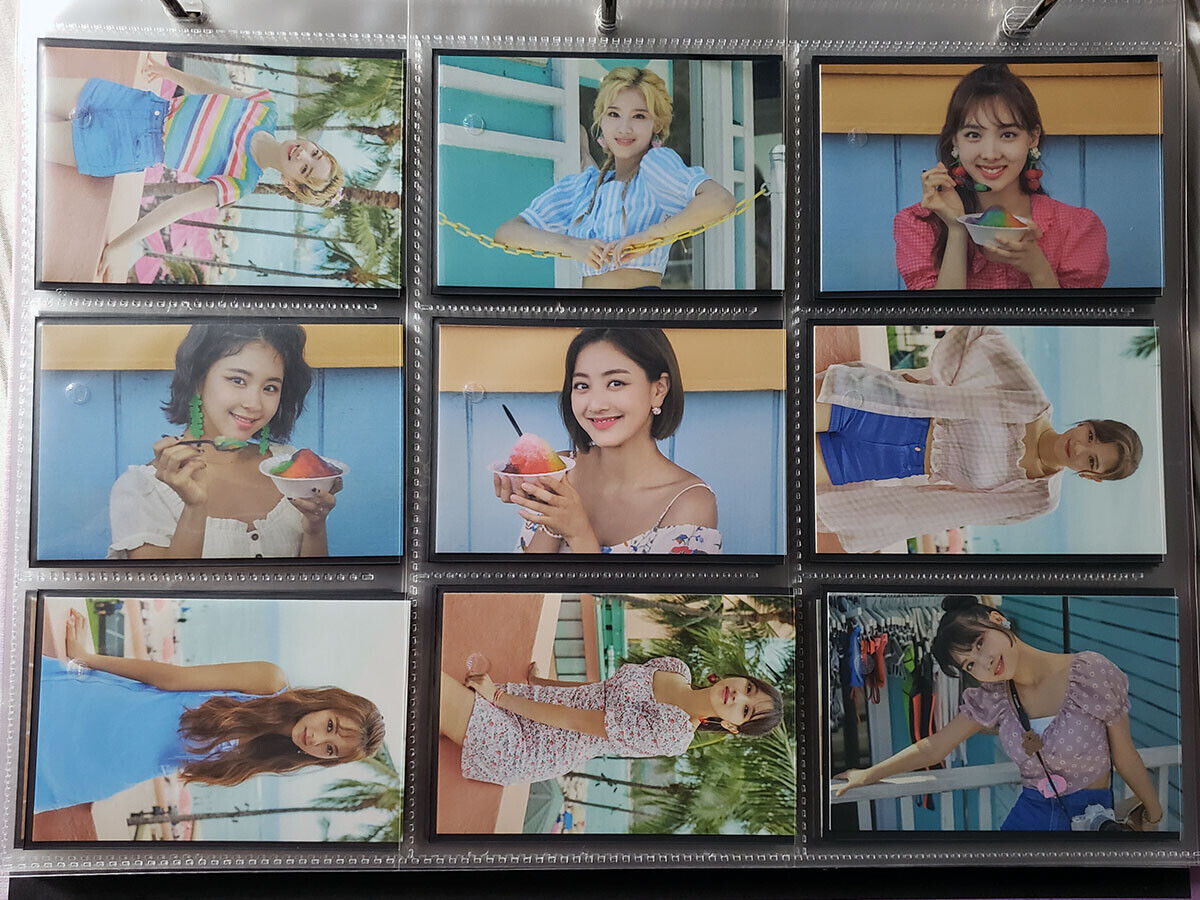 TWICE - TWAII'S SHOP in SEOUL - Official Trading Photocard 28-36