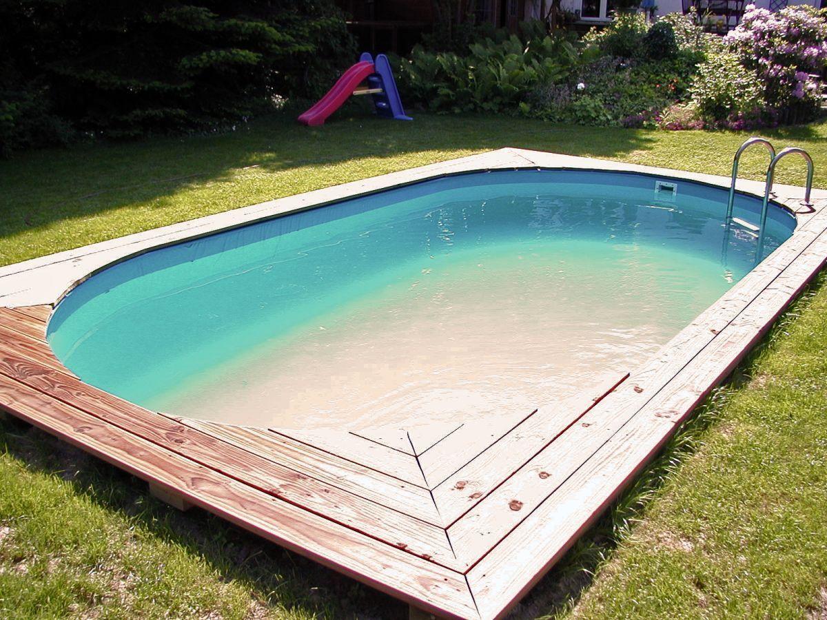 Ovalbecken Aufstellbecken Stahlwandbecken oval Schwimmbecken Ovalpool