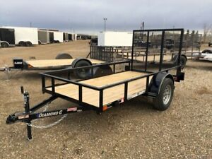 2018 Diamond C RSA Utility Trailer