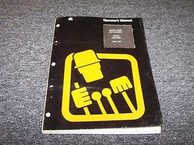 International Harvester 520b Wheel Pay Loader Owner Operator User Guide Manual