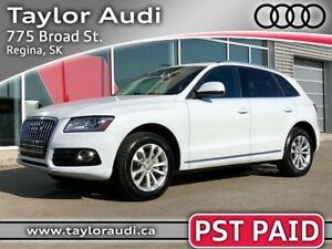 2013 Audi Q5 2.0T Premium Plus PST PAID, LOCAL TRADE, NAVIGAT...