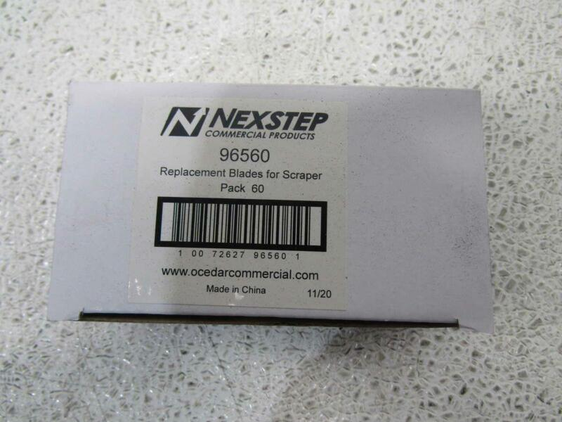Case of 50 Boxes of Nexstep Replacement Blades for Window & Floor Scrapers 96560