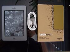 Amazon Kindle Touch Wi-Fi, 6 inch.  The LAST eReader with sound