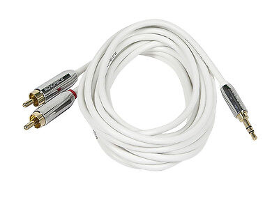 Monoprice 9300 6ft Mobile 3.5mm Stereo Male to RCA Stereo Male Cable