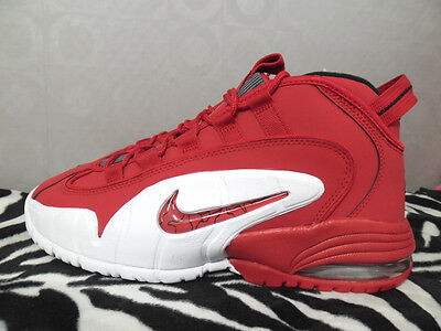 NIKE AIR MAX PENNY 1 US8.5 (685153 600) university red/ white- black