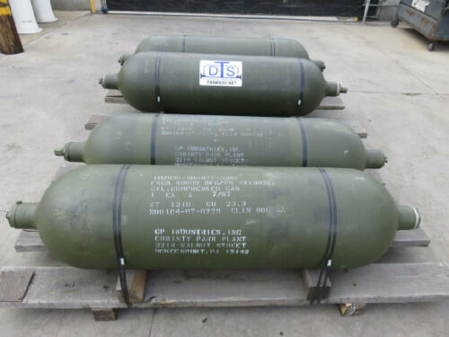 Compressed gas cylinder CNG rated to 5000 PSI 6.2 CU FT