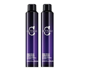 2 PACK!! GIFT SET TIGI CATWALK YOUR HIGHNESS VOLUMIZNG FIRM HOLD HAIRSPRAY 9 (2 Pack Gift Set)