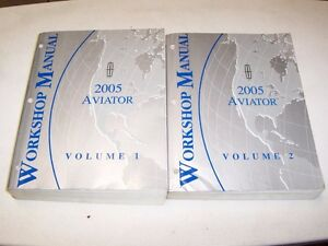 2005 Lincoln Aviator AWD 4.6L V8 Workshop Shop Service Repair Manual Book Set