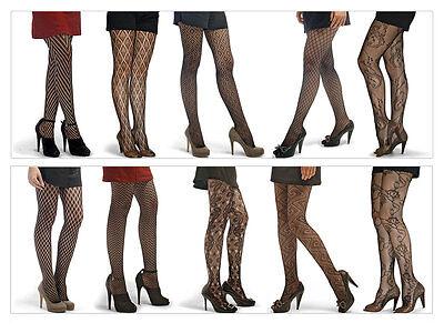 Netz Strumpfhose versch. Muster 20 Modelle Damen Strumpfhose Feinstrumpfhose